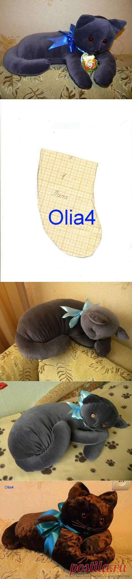 Кошки-подушки.Мое творение.   Записи в рубрике Кошки-подушки.Мое творение.   Дневник Olya4