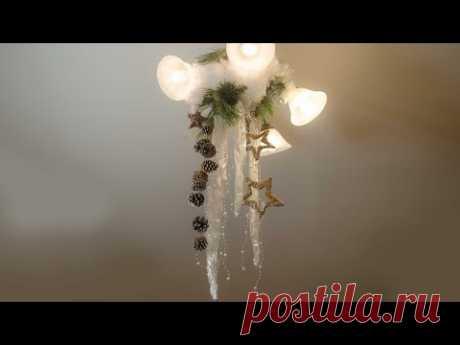Новогоднее оформление дома к празднику своими руками (Мастер класс)