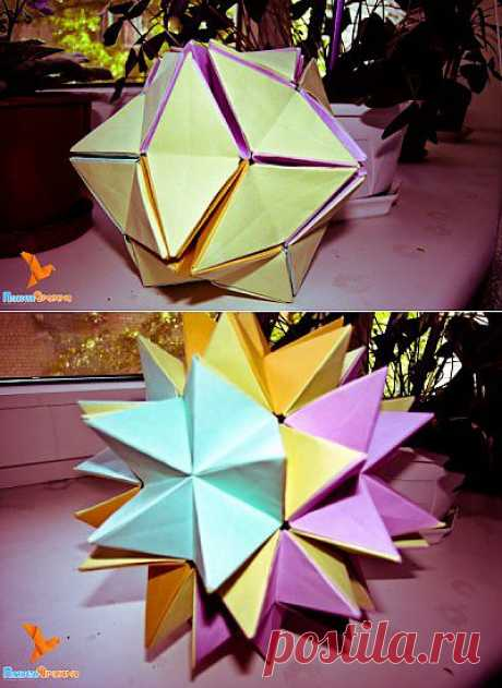 Распускающийся цветочный шар от Валентины Гончар