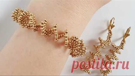 Bead bracelet/Diy Bracelet/Bracelet/Tutorial/Браслет из бисера/Браслет своими руками/Натали Амапола