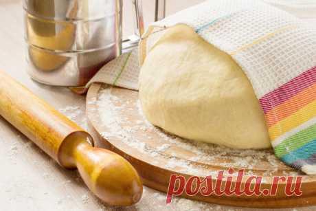 Дрожжевое тесто рецепт с сухими дрожжами | Еда от ШефМаркет | Яндекс Дзен