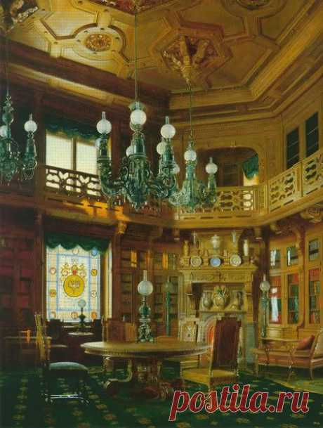 "Anichkov Palace The library of the palace... \/ Deirdre Cece was kept by Ping on a board of ""Russian Palaces\"". 
