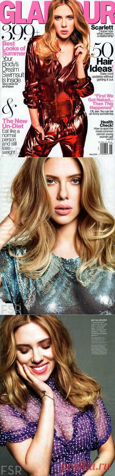 Скарлетт Йоханссон в Glamour US (Интернет-журнал ETODAY) a4b082742ca
