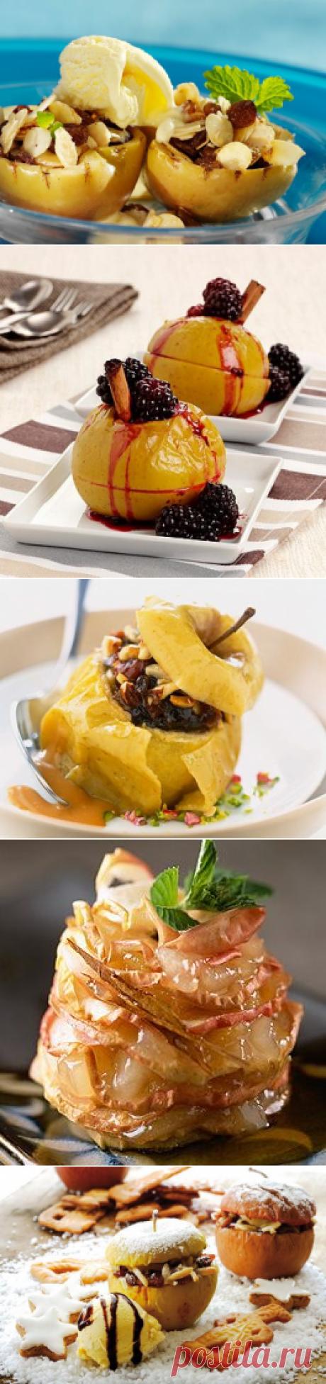 6 лучших рецептов запеченных яблок