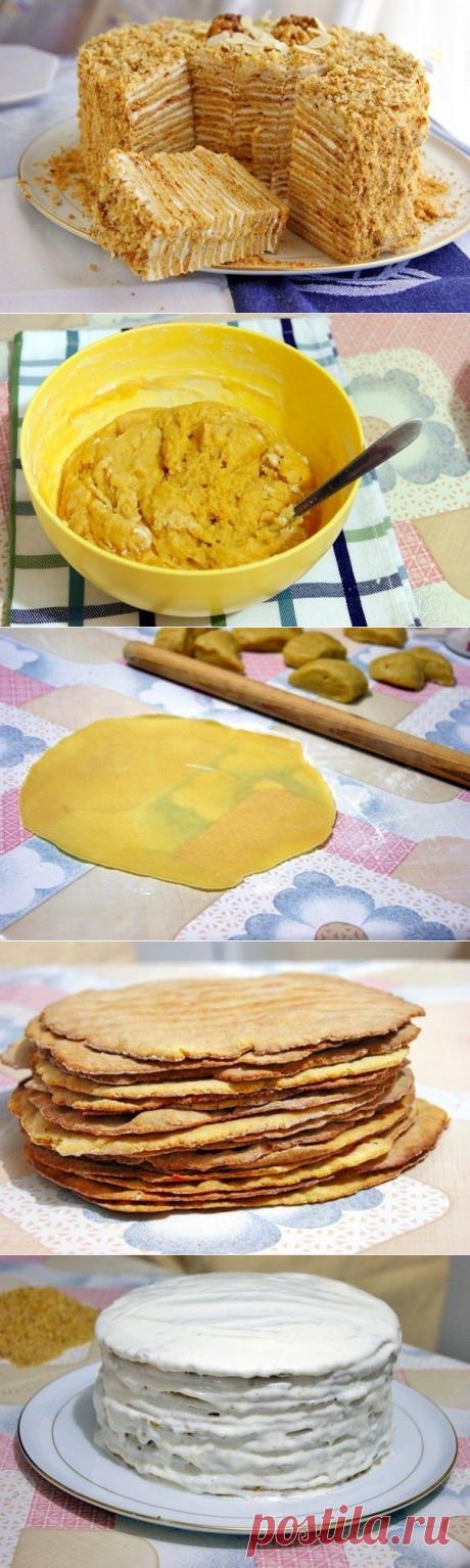 Как приготовить торт пизанская башня - рецепт, ингридиенты и фотографии