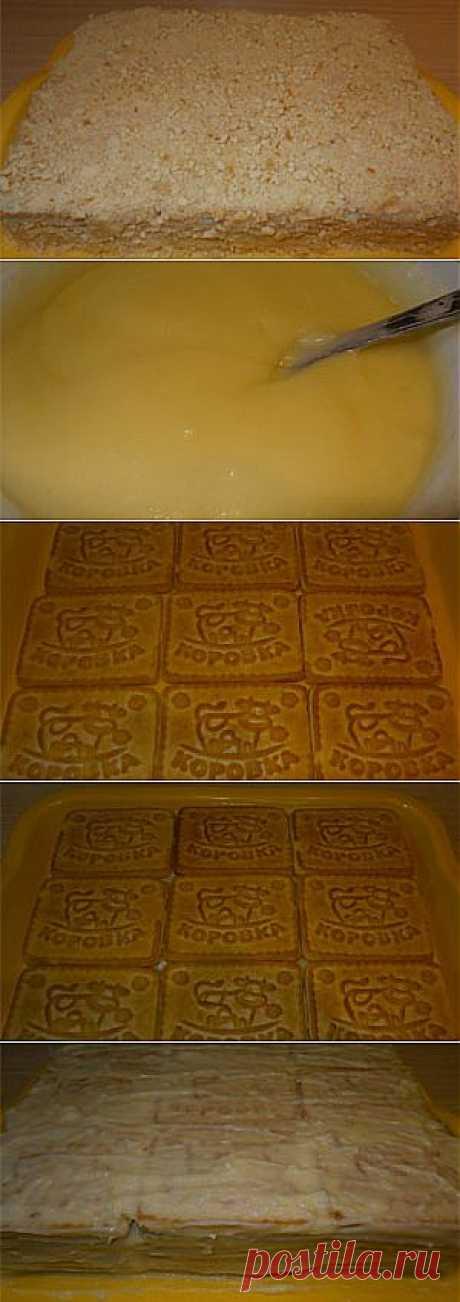 Торт из печенья на быструю руку, МК | Рецепты | Само Совершенство