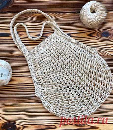 Современная сумка~авоська (Вязание крючком) – Журнал Вдохновение Рукодельницы