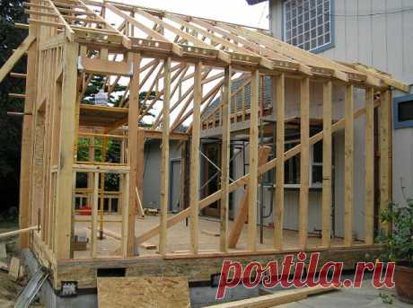 Прикладное строительство: возведение легкой веранды, основные моменты