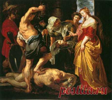 Обезглавливание Иоанна Крестителя, 1609-10. Питер Пауль Рубенс. Описание картины, скачать репродукцию.