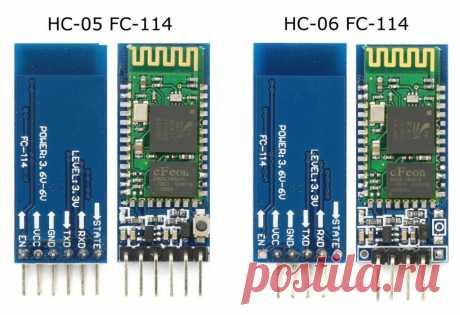 Arduino и модули Bluetooth HC-05/06 - блог