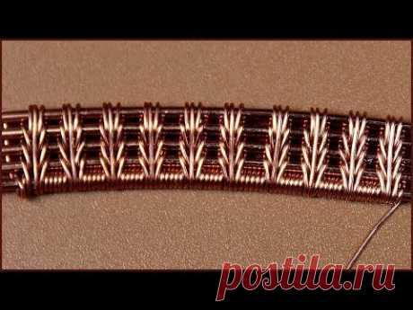 Wire wrap tutorial  Wire wrapped jewelry. Плетение украшений из проволоки в технике Wire Wrap. - YouTube