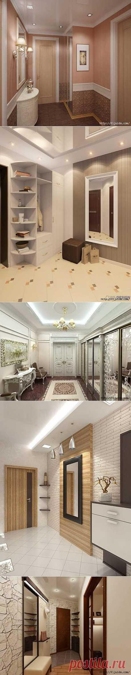 Красиво оформляем коридор