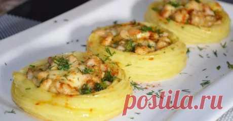 Картофельные гнёзда с куриной начинкой: необычный ужин из простых и дешёвых ингредиентов. Это блюдо всегда получается вкусным | sm-news.ru