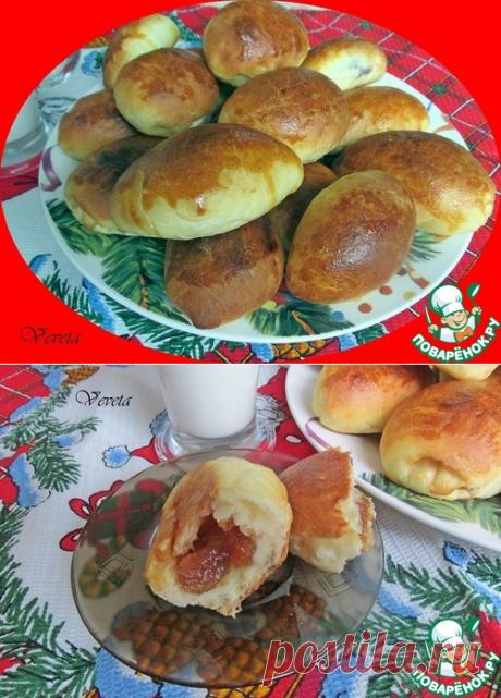 Пирожки из дрожжевого теста с крахмалом – кулинарный рецепт