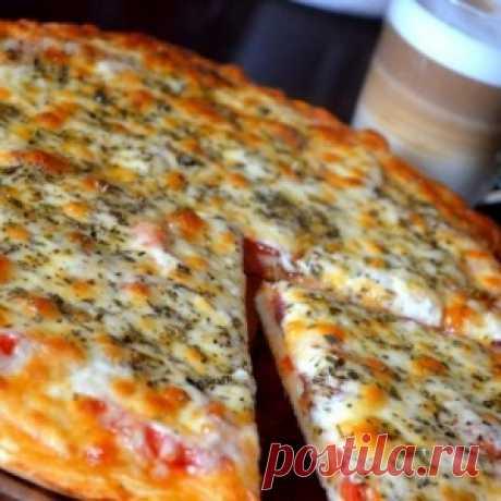 Попробовав однажды эту пиццу, я уверенно записала рецепт, чтобы не потерять! Рекомендую! - МирТесен