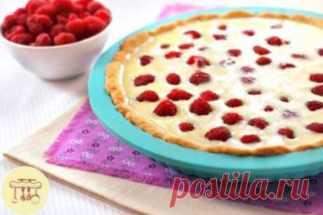 Малиновый пирог   #десерт