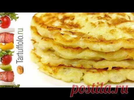 Творожно-сырные лепешки (с пекинской капустой или с колбасой, ветчиной и т.п.). Быстрый рецепт на сковороде
