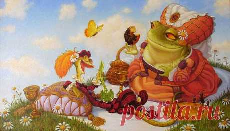 El ilustrador Scott Gustafson (¡Scott Gustafson) - 117 ilustraciones - Para que vivíamos así!