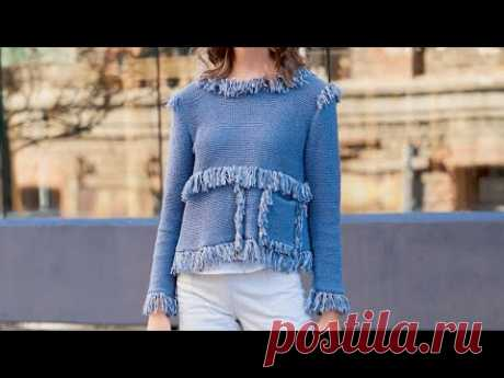 Женские вязаные модели для летнего сезона - Women's knitted patterns for the summer season