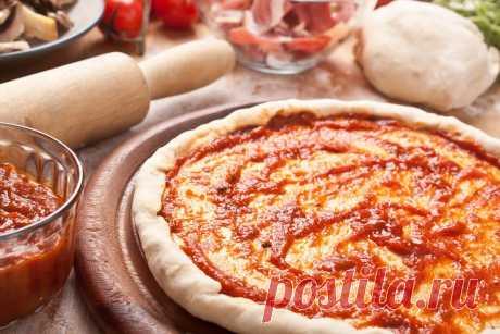 7 рецептов теста для пиццы — Фактор Вкуса