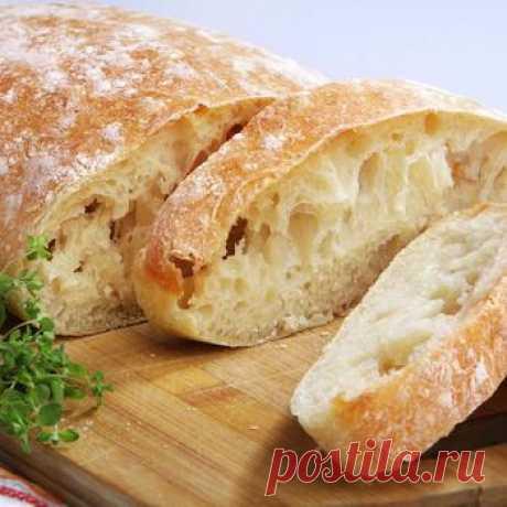 """El pan blanco """"Чиабатта"""" → las Recetas → Zakaz.ua - la tienda de Internet Oficial de los supermercados de Kiev"""