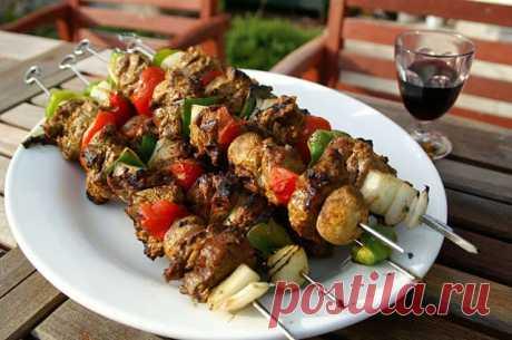 Шашлык из баранины с киви — Sloosh – кулинарные рецепты