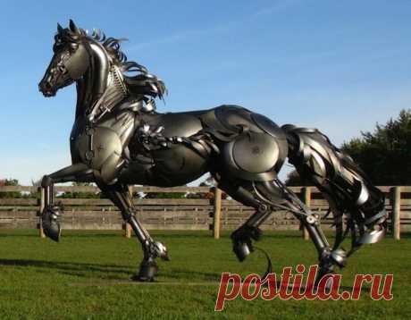 Металлические животные Джона Лопеса - Всемирное искусство (worldart.ru)