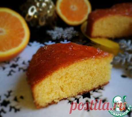 Рождественский апельсиновый пирог - кулинарный рецепт