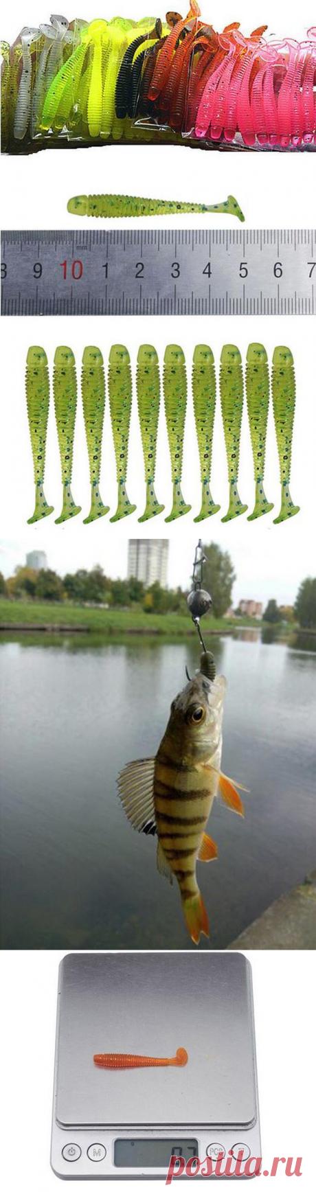 Мягкая силиконовая рыболовная приманка «Proleurre» с Алиэкспресс   Super-Blog