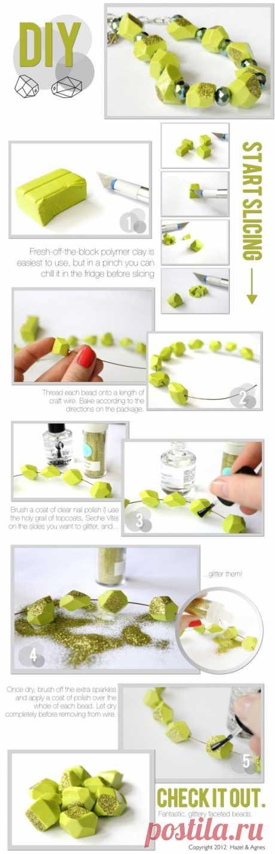 Обзор - несколько интересных уроков по лепке из полимерной глины