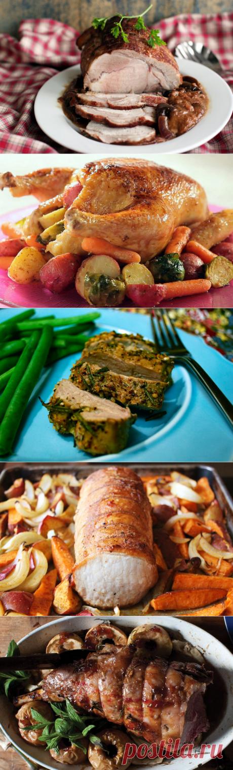 Как запечь мясо к новогоднему столу? 8 способов — Вкусные рецепты