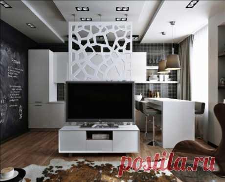 Зонирование в маленькой квартире — Pro ремонт