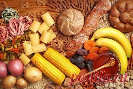 Медленные углеводы: список продуктов для похудения