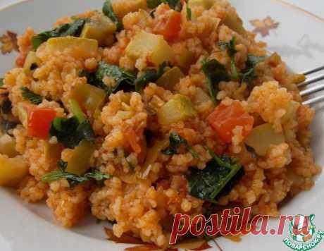 Кускус с овощами – кулинарный рецепт
