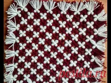 make awesome table mat, door mat, tv, laptop, dish tv cover (without crochet and salai)