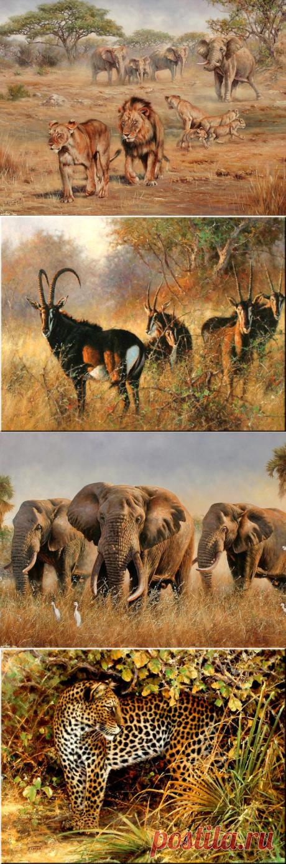 Дикая африканская природа на картинах Eric Forlee
