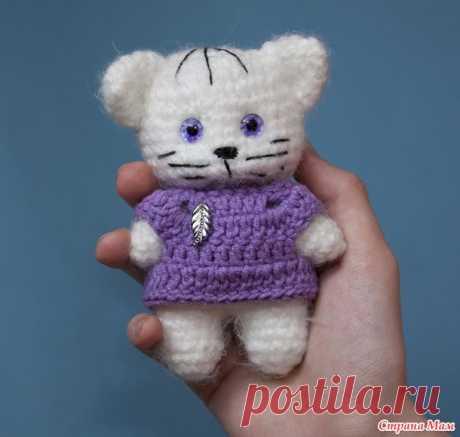 Пушистый котик амигуруми - Вязание - Страна Мам