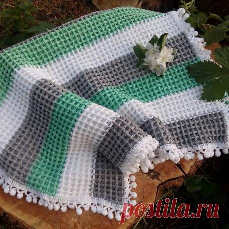 Пледы крючком   Вязание от Елены Ерминой   Яндекс Дзен
