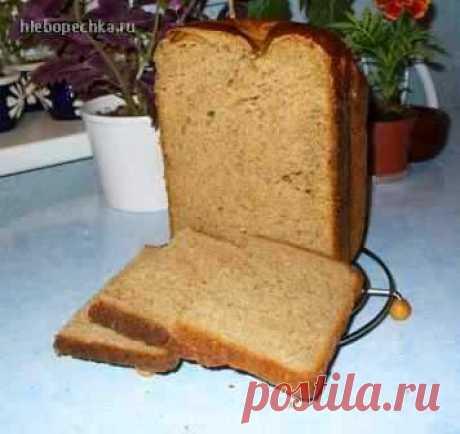 Хлеб пшенично-ржаной с сухим квасом на закваске - Хлебопечка.ру