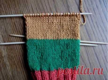 Вязание носков на 5 спицах: описанием, схема и видео мастер-класс