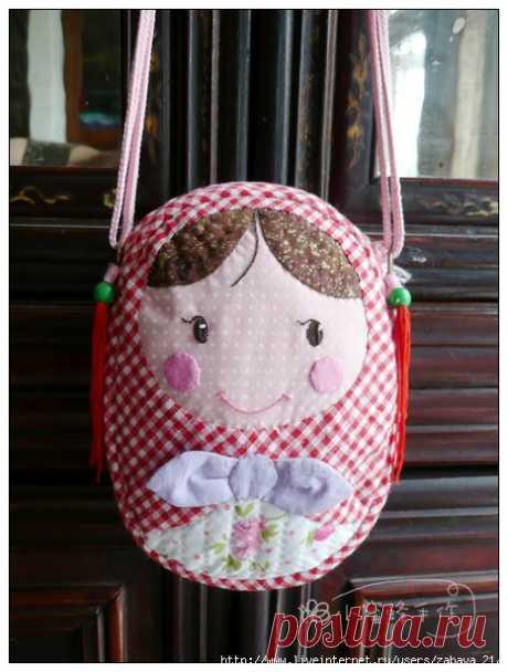 Маленькая сумочка своими руками для девочки