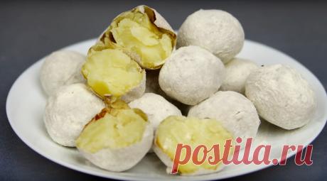Простой картофель в духовке: и внешне, и по вкусу как запеченный в золе | Кухня наизнанку | Яндекс Дзен