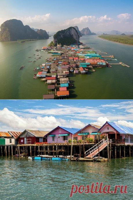 Филиал рая: Ко Паньи — уникальная деревушка в Таиланде, которую нужно срочно посетить этим летом — Вокруг Мира