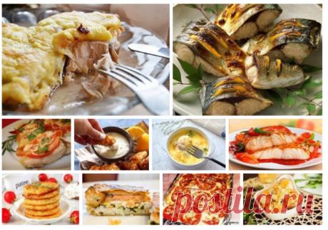 10 лучших рыбных низкокалорийных рецептов!