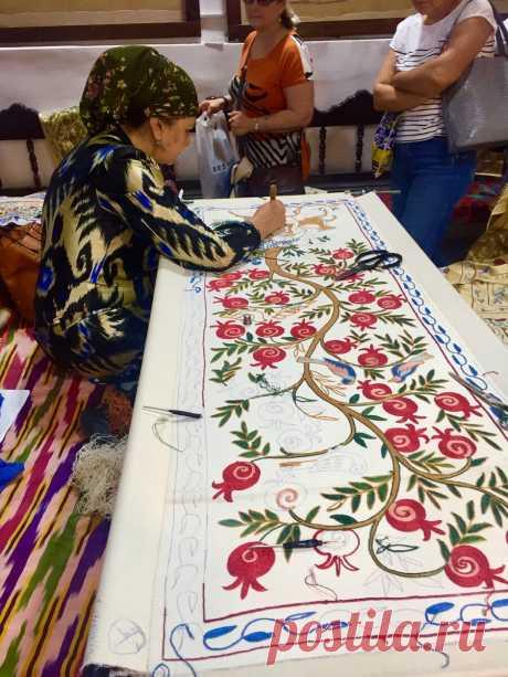Сюзане - вышивка покоряющая красотой | Дорога без конца | Яндекс Дзен