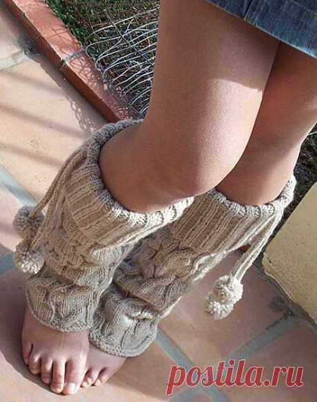 Вязание носков спицами и крючком, схемы и описания - Вяжи.ру - модели 4