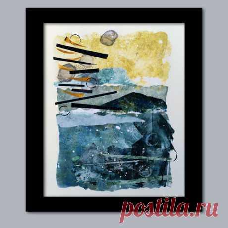 Wednesday Collage — Bobbi Baugh StudioArtwork Galleries - Bobbi Baugh Art Studio