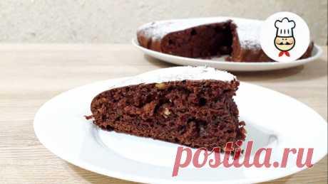 Шоколадный пирог за 5 минут — Кулинарная книга