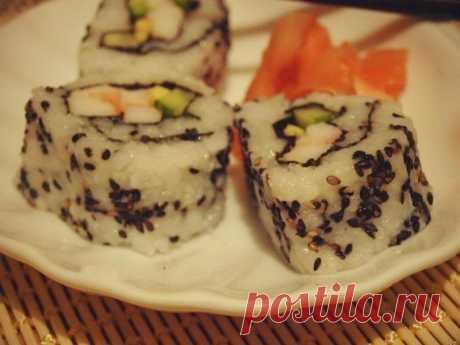 Делаем дома роллы как в суши-баре - рецепт и способ приготовления, ингридиенты | sloosh