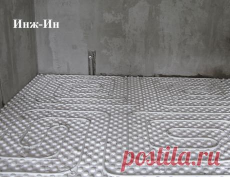 Теплый пол в частном доме, фото 116